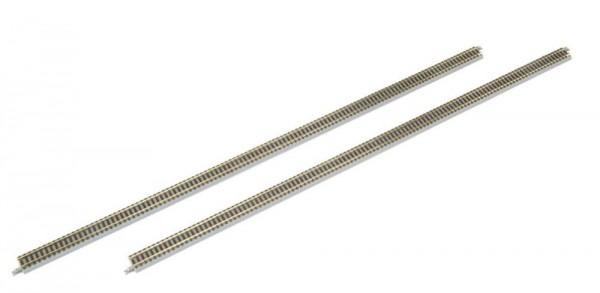 Rokuhan R055 Elektrische Weiche links 110mm R490-13° Gleis gerade